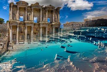 Эфес - Памуккале экскурсия из Мармариса и Ичмелера