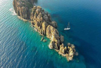 Эгейские острова на закате