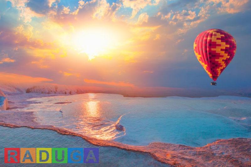 Полет на воздушном шаре из Бодрума